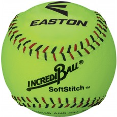 "Easton 12"" Incrediball Neon SoftStitch Training Softball, A122609T, ea"