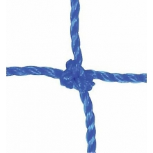 Kwik Goal 5' x 10' x 0' x 5' Soccer Nets, 2mm, BLUE, 3B342 (pr)