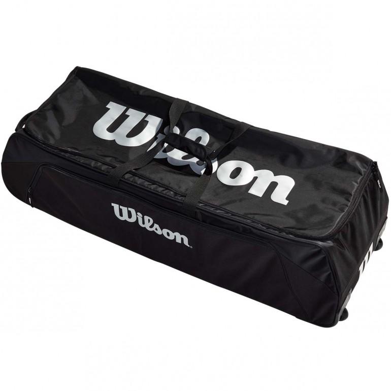 Wilson 12 Football Wheeled Duffle Bag 42 Lx16 Wx15 H