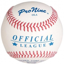 Pro Nine OLA Official League Baseballs, dz