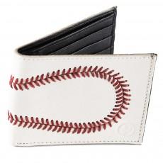 Genuine Leather Baseball Wallet