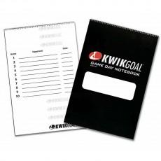 Kwik Goal Soccer Coach's Game Day Notebook