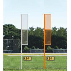 Jaypro 15' Softball Foul Poles, SBCFP-15