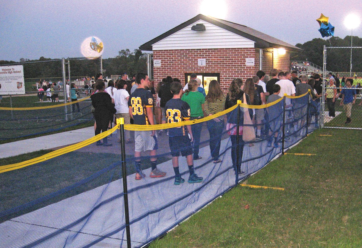 Grand Slam Above Ground Temporary Fence Package 314