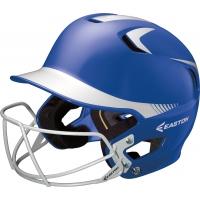 Easton Z5 Two Tone Batting Helmet w/ Facemask, SENIOR