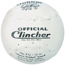 "deBeer 12"" Clincher F12 Official Softballs, dz"