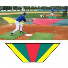 Aer-Flo Major League Bunt Zone Infield Protector, 15'x18'x48'