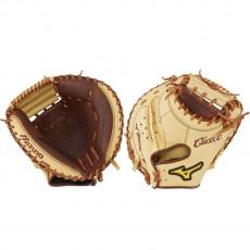 "Mizuno 33.5"" Classic Pro Soft Baseball Catcher's Mitt, GXC2853"