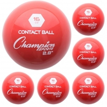 "Champion 6/set 2.8"" Weighted Training Balls"