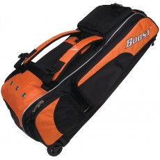Diamond Boost Wheeled Baseball/Softball Equipment Bag, 35''Lx13''Wx12''H