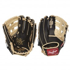 "Rawlings 12.25"" Heart Of The Hide R2G Outfield Baseball Glove, PROR207-6BC"