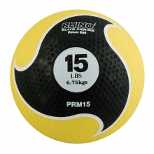 Champion 15 lb Rhino Elite Medicine Ball, PRM15
