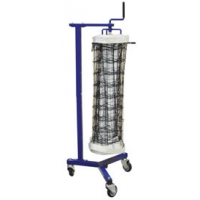 Volleyball Net Storage Cart, SINGLE