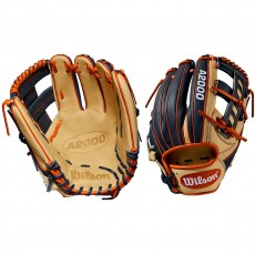 "Wilson 11.5"" A2000 Superskin Infield Baseball Glove, WTA20RB19JA27GM"