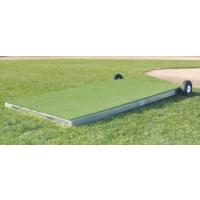 "Promounds MP2035 Collegiate Portable Batting Practice Pitching Platform, 7'L x 3'W x 6-10""H"