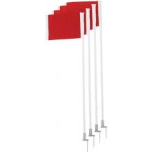 Champion SPRING LOADED Soccer Corner Flags, set of 4, SCF-30