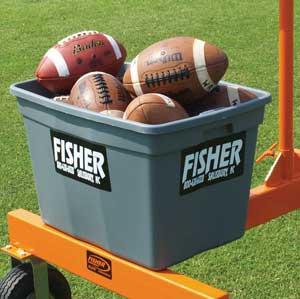 Fisher Jugs Football Machine Ball Bin Jcbb A47 254