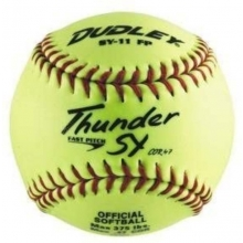 """Dudley 11"""" SY11FP 47/375 Synthetic Fastpitch Softballs, dz"""