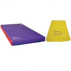 Spieth Simone Biles Club Gymnastics Mat Package