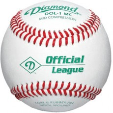 Diamond DOL-1 MC Mid Compression Baseballs, dz