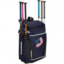 "DeMarini Special Ops Backpack, WTD9408, 12"" L x 14.5"" W x 21.5"" H"