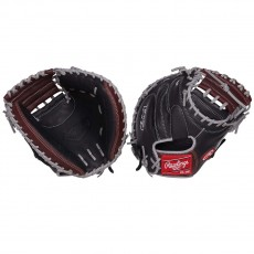 "Rawlings 32.5"" R9 Catcher's Baseball Mitt, R9CM325BSG-3/0"