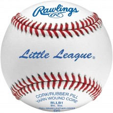 Rawlings RLLB1 Little League Competition Baseballs, dz