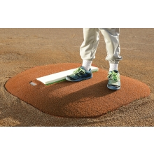 "Portolite 4""Hx3'10""Lx2'10""W Economy Stride-Off Mound, Clay"