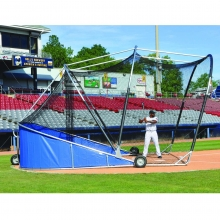 Jaypro Big League Bomber Pro Portable Batting Cage, BBGS-18