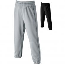 Wilson YOUTH Elastic Waist Baseball Pants, Gray