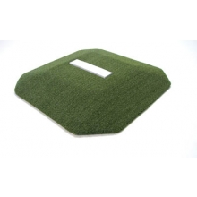 "Proper Pitch 419005 Portable Youth Baseball Training Mound, 3'6""W x 3'6""L x 4""H, Green"