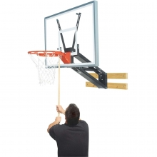 Bison QuickChange Acrylic Basketball Wall Shooting Station