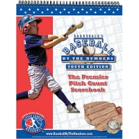 Baseball by the Numbers Youth Pitch Count Scorebook