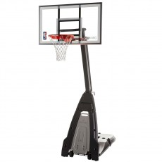 "Spalding The Beast 54"" Glass Portable Basketball Hoop"