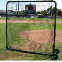 Softball 7' x 7' Protective Screen Frame & Net