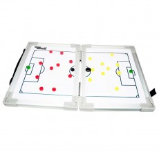 Soccer Innovations Hinged Magnetic Soccer Tactic Board