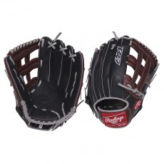"Rawlings 12.75"" R9 Outfield Baseball Glove, R93029-6BSG-3/0"