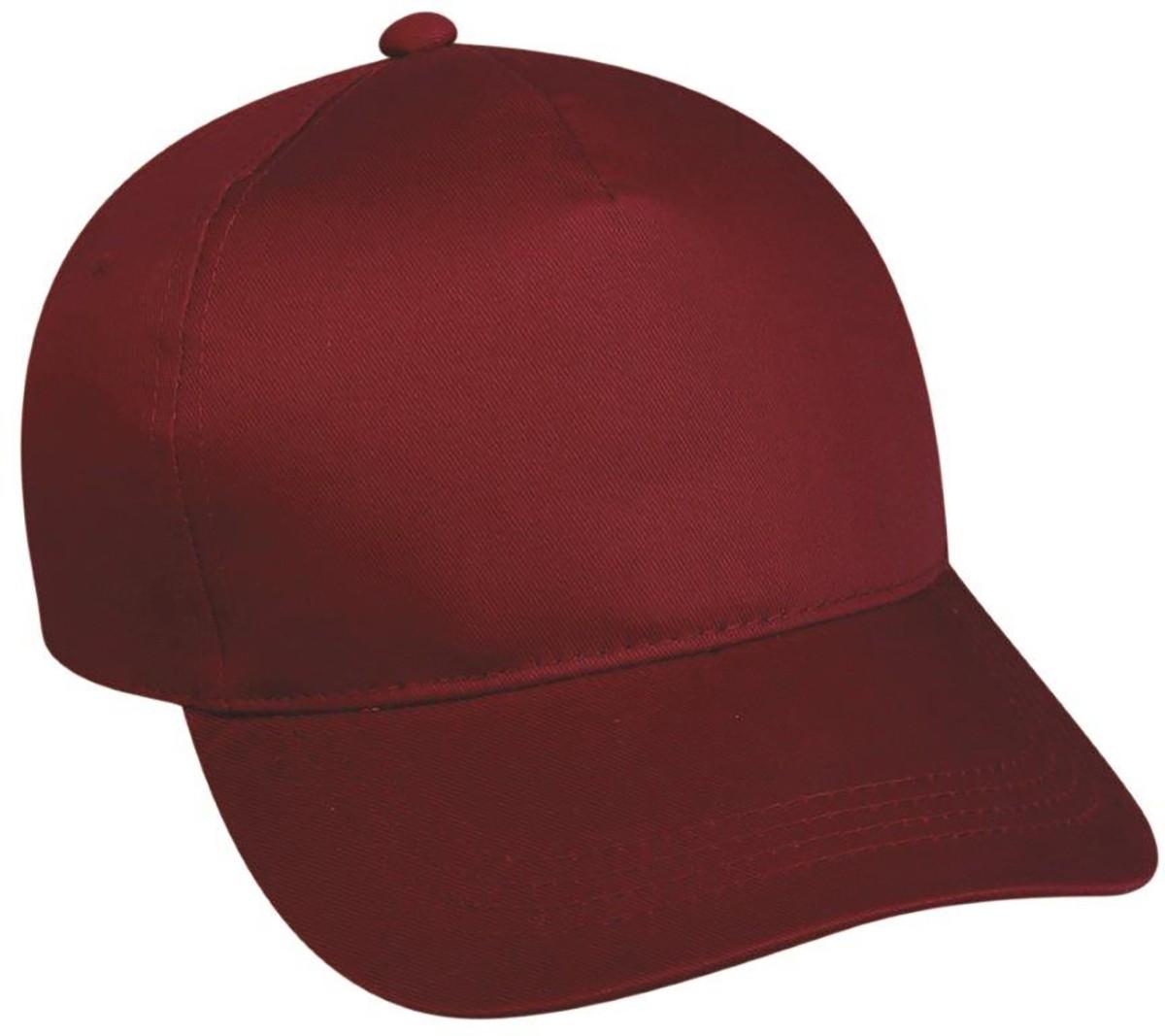 Outdoor Cap 5-Panel Baseball Cap w  Plastic Snap Closure a34a617289a
