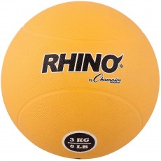 Champion 3 Kilo / 7 lb. Rubber Medicine Ball, RMB3