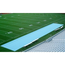 Aer-Flo Bench Zone Football Sideline Turf Protector, 15' x 150'