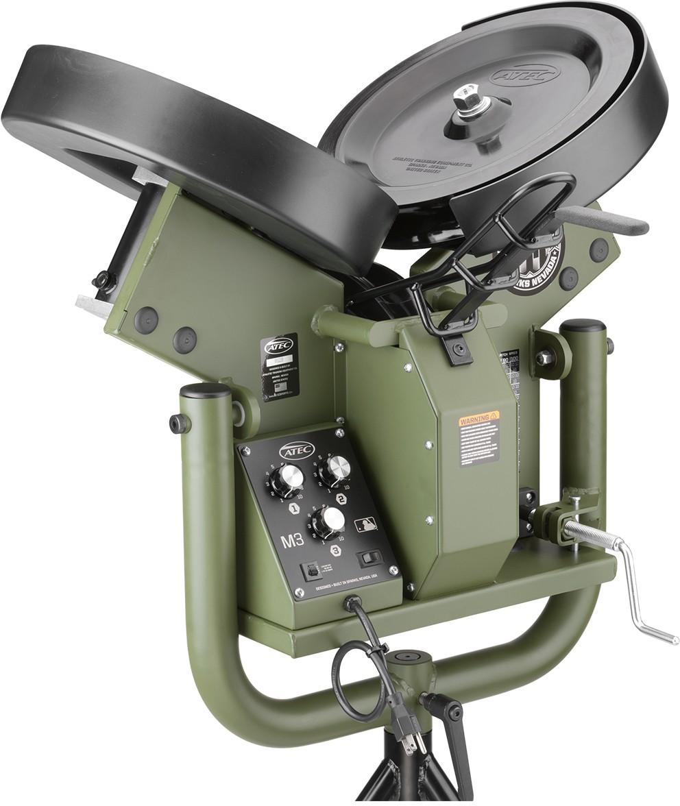 Atec M3 Baseball Pitching Machine
