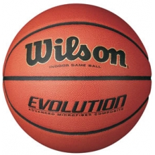 "Wilson Evolution Men's 29.5"" Basketball, WTB0516"