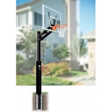 Bison 4'' Quick Change Residential Basketball Hoop, BA89QC-AW