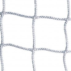 Jaypro 6.5' x 18.5' x 2' x 6' Soccer Nets, 3mm, WHITE, SCN-18 (pair)