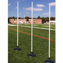 Jaypro Set of 6 All-Surface Coaching Sticks, RBCS-6