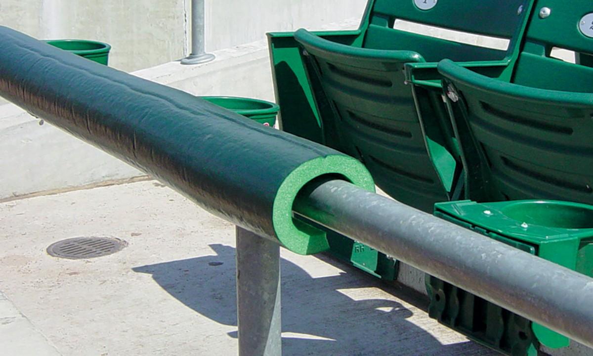 Premium Safefoam Baseball Rail Padding A15 857 Anthem