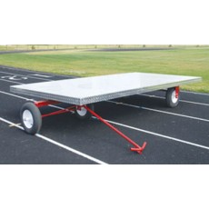 Blazer 2714 Aluminum Track Super Equipment Cart, 5' x 10'