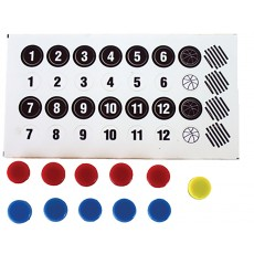 KBA Replacement Magnets w/ Numbering Stickers