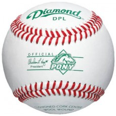Diamond DPL Pony League Tournament Baseballs, dz