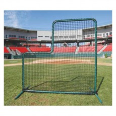 ProMounds Deluxe 7' x 7' Baseball L-Screen Frame & Net